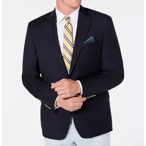 LRL Classic-Fit Ultra Flex Navy Sports Coat